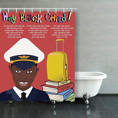 Black Child: Boy Flight Attendant