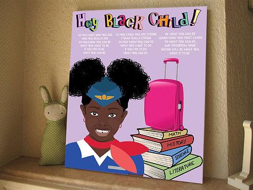 Hey! Black Child: Flight Attendant
