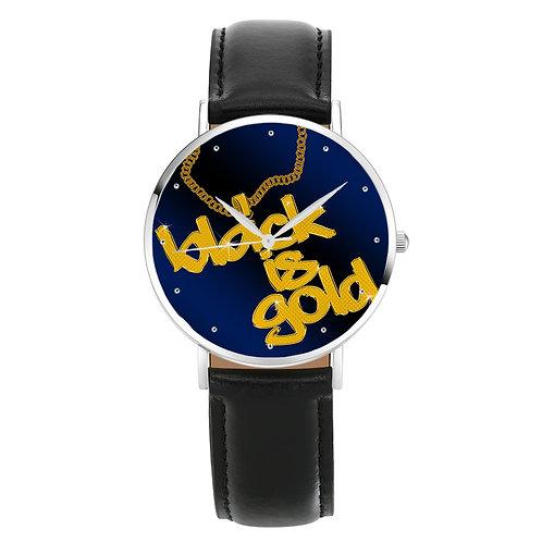 Gold Drip Watch