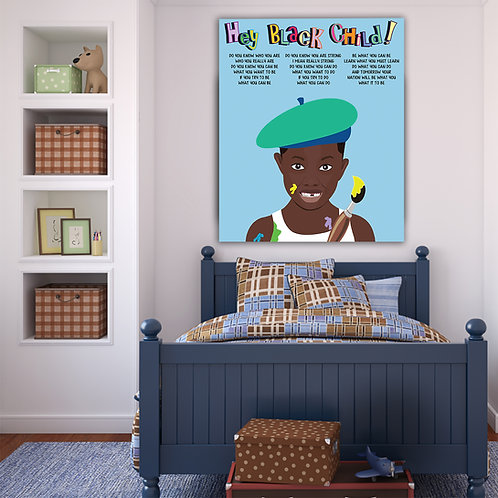Hey! Black Child: Artist