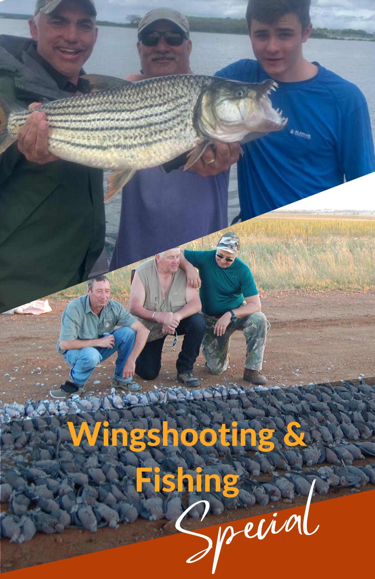 Start WIng-Shooting & Fishing