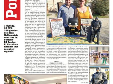 Article dans le journal ''Le Régional''
