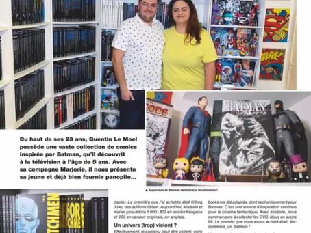 Notre article dans le magazine ''Collectionneur & Chineur''