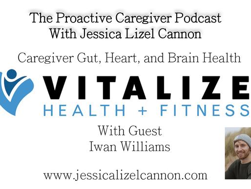 Caregiver Gut, Heart, and Brain Health