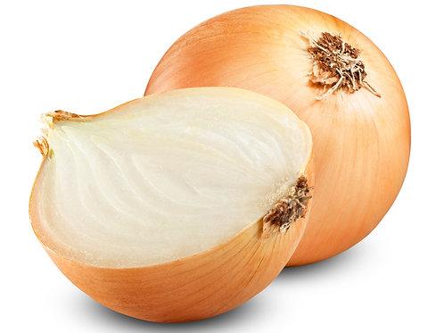 Organic White onions x 1kg