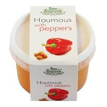 Fresh Houmous with Peppers 228g