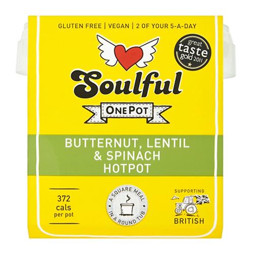 Butternut, Lentil & Spinach Hotpot