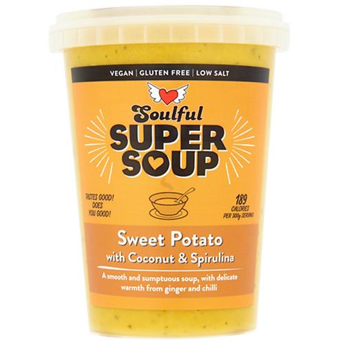 Sweet Potato Soup with Coconut & Coriander