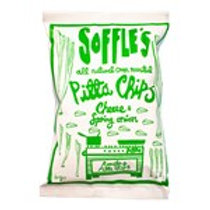 Soffles Pitta Chips - Spring Onion & Italian Cheese 60g