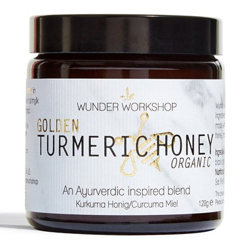 Organic Golden Turmeric Honey 120g