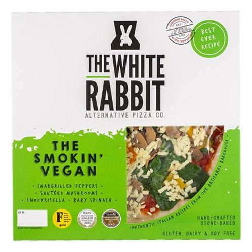 The White Rabbit - Smokin' Vegan Pizza -  V GF