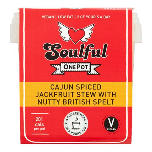 Cajun Spiced Jackfruit Stew with British Spelt