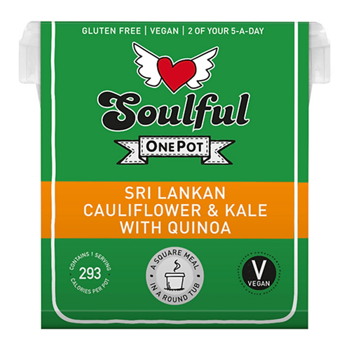 Sri Lankan Cauliflower & Kale with Quinoa