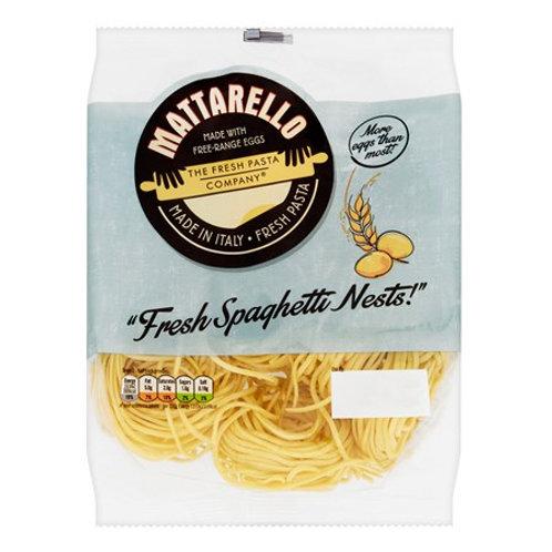 Mattarello - Fresh Egg Spaghetti Nests 250g