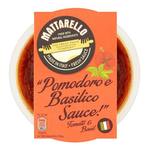 Pomodoro & Basilico Pasta Sauce 230g