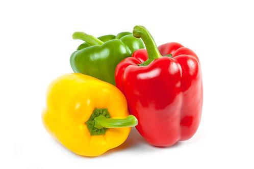 Organic Peppers x3