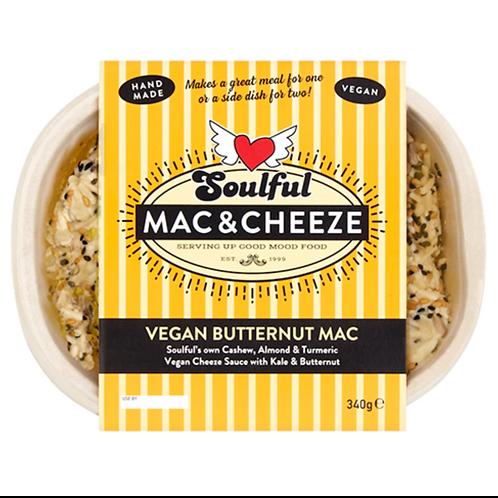 Vegan Butternut Mac  topped with Prosciano & Breadcrumbs