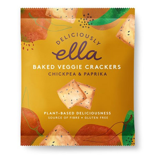 Baked Veggie Cracker Chickpea & Paprika 30g