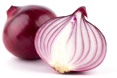 Organic Red Onions x 1kg