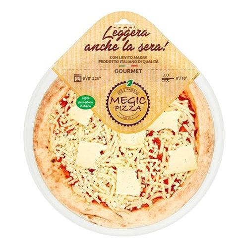 Pizza - Mozzarella, Montasio & Gorgonzola cheeses 450g