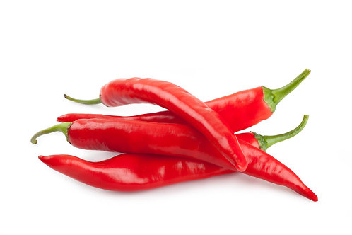Organic Red Chilli Peppers 150g