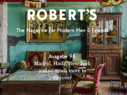 כתבה במגזין הגברים הברלינאי ROBERT'S
