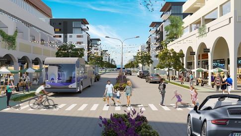 The New Weizman street