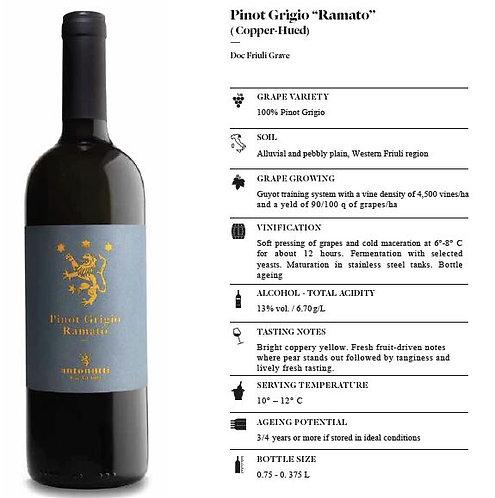 Pinot Grigio Ramato (coppery pinot grigio)