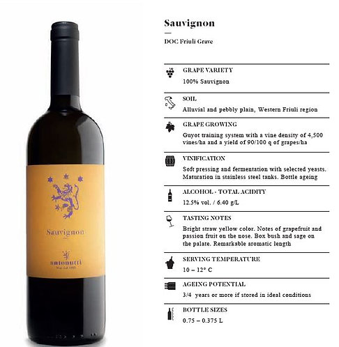 Sauvignon Blanc - Friuli Grave DOC