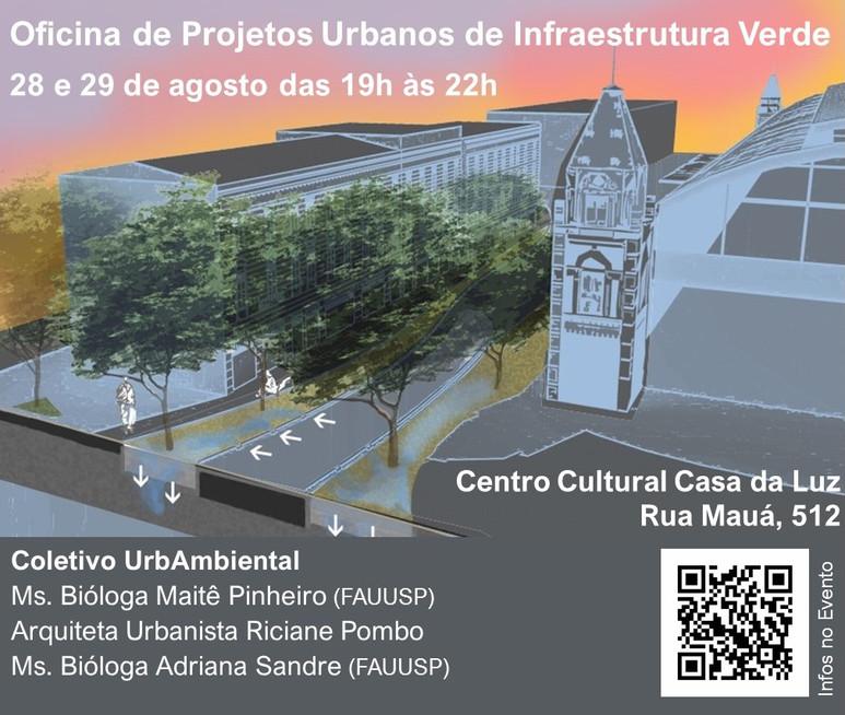Oficina de Projetos Urbanos de Infraestrutua Verde