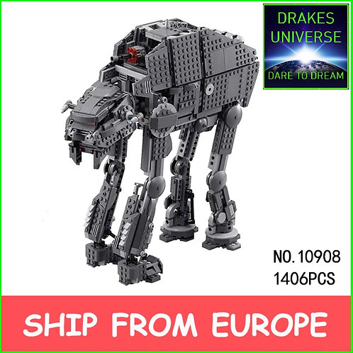 First Order Heavy Assault Walker AT-M6 1406 Pieces
