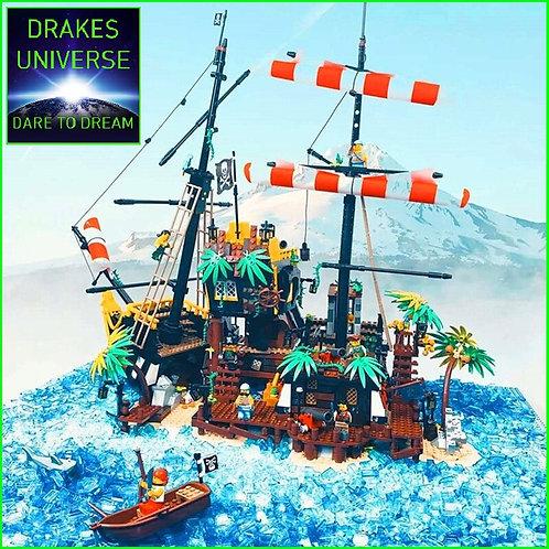 Pirate Series Black Seas Barracuda 2545 Pieces