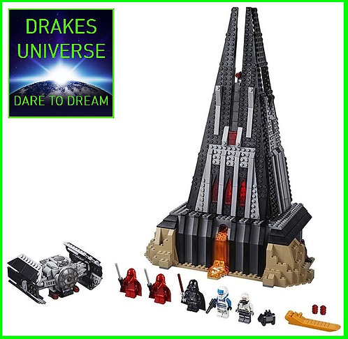 Star Wars Darth Vader`s Castle Model Kit 1187 Pieces