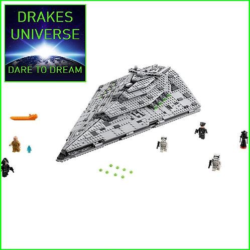 Star Wars First Order Star Destroyer 1457 Pieces