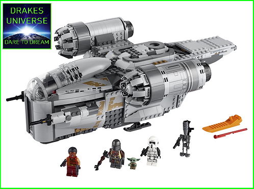 Star Wars The Mandalorian Razor Crest 1023 Pieces