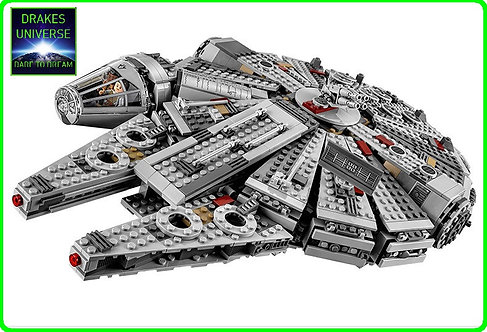 Star Wars Millennium Falcon Model Kit 1381 Pieces