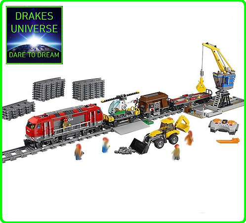 City Series Heavy-haul Train Set 1033 Pieces