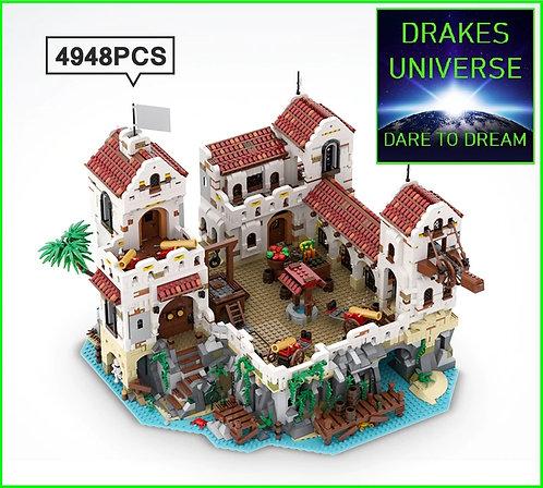 Pirate Series Eldorado Fortress 4948 Pieces