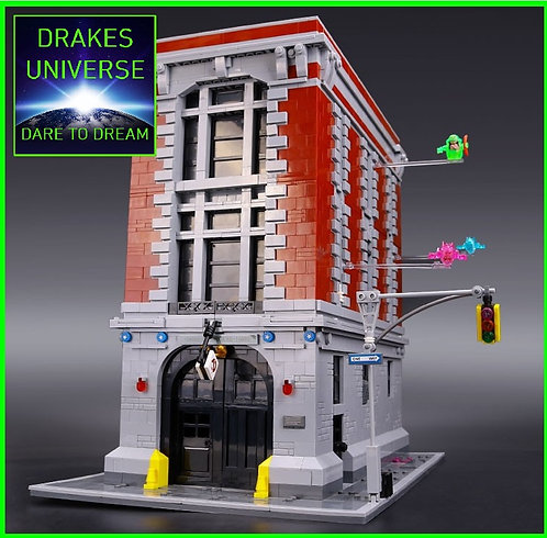 Ghostbusters HQ Model Kit 4705 Pieces