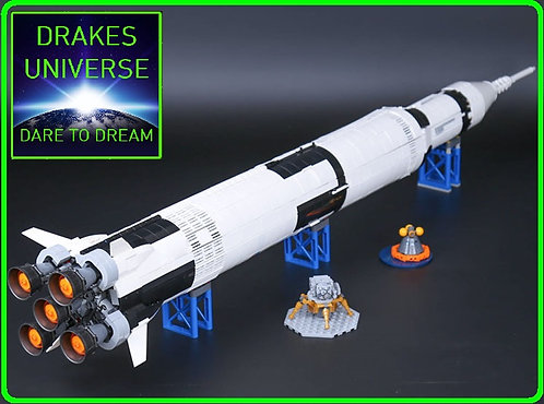 Creative Series The Apollo Saturn V Model Set 1969Pieces