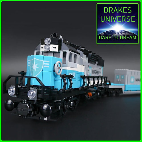 City Series Maersk Train Set 1234 Pieces