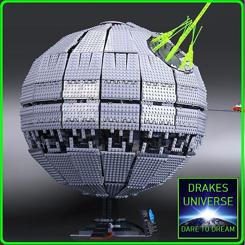 Star Wars Death Star II Model Kit 3449 Pieces