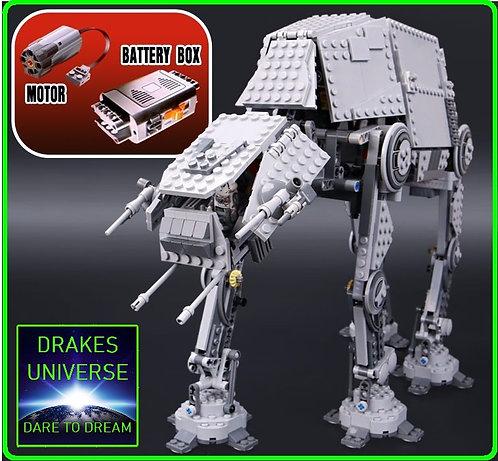 Star Wars Motorized Walking AT-AT Model Kit 1137 Pieces