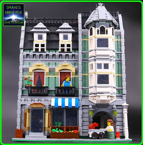 Creative Series The Green Grocer 2462 Pieces