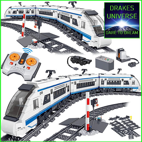 City Series Harmony High Speed Train 941 Pieces