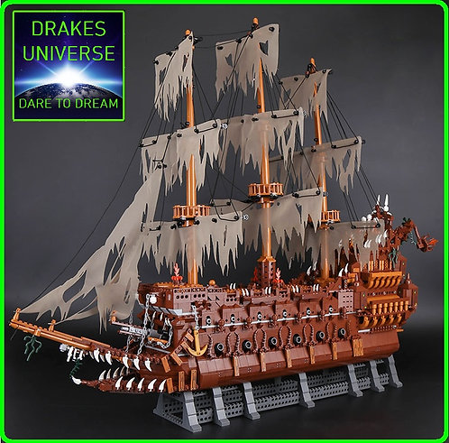 Pirate Series The Flying Dutchman Model Kit 3652 Pieces