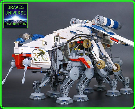 Star Wars Republic Dropship Model Kit 1808 Pieces