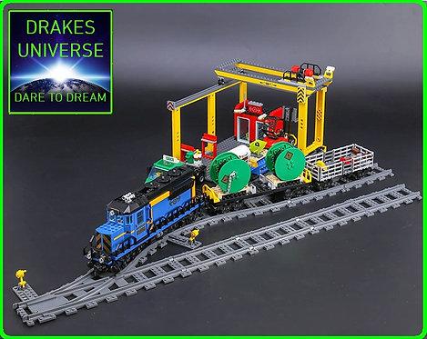 City Series The Cargo Train Set 959 Pieces
