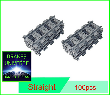 City Series Extra Track 100 Straight Pieces