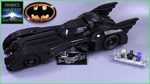 DC 1989 UCS Batmobile Model Kit 3472 Pieces